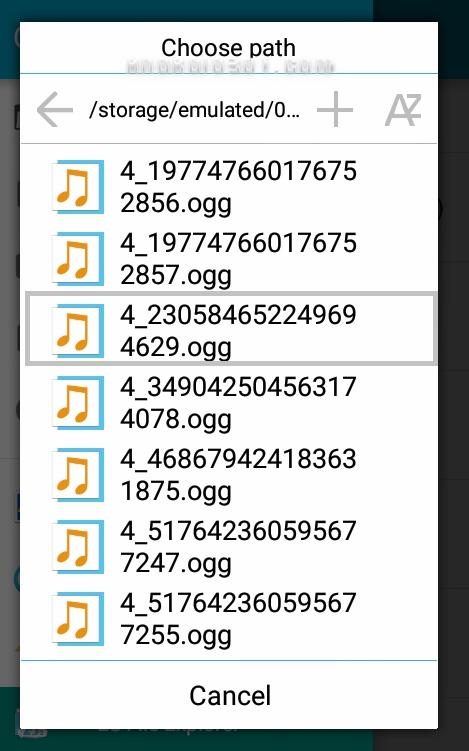 آموزش تبدیل صداهای تلگرام به MP3 + تصاویر