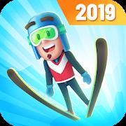 دانلود 1.0.30 Ski Jump Challenge - بازی جذاب اسکی برای اندروید