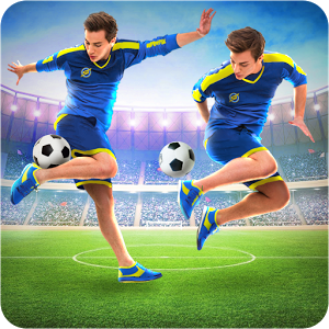 SkillTwins Football Game 1.5 – بازی ورزشی فوتبال دوقلوهای ماهر اندروید