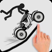دانلود Stickman Racer Road Draw 1.0.4 - بازی مسابقات استیکمن اندروید