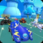 دانلود 1.0 Super Sonic Kart Racing - بازی مسابقه فوق العاده اندروید