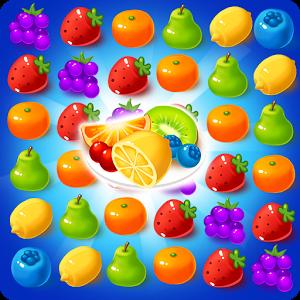 دانلود Sweet Fruit Candy 80 - بازی پازلی میوه های شیرین اندروید