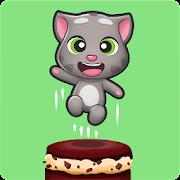 دانلود Talking Tom Cake Jump 1.2.6.331 - بازی پرش از کیک تاکینگ تام اندروید
