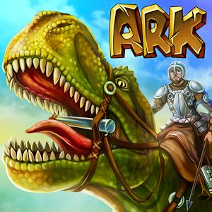 دانلود The Ark of Craft: Dinosaurs Survival Island Series 3.3.0.4 - بازی بقا در جزیره ی دایناسورها اندروید