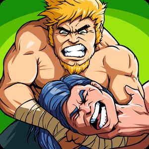دانلود The Muscle Hustle: Slingshot Wrestling 1.34.2550 – بازی اکشن کشتی قهرمانان اندروید