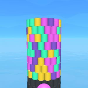 دانلود Tower Color 1.2 - بازی اعتیاد آور برج رنگی اندروید