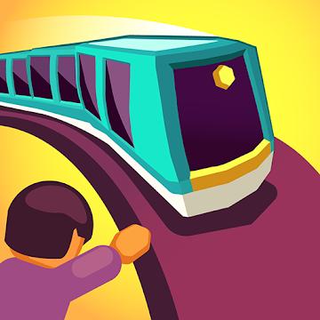 دانلود Train Taxi 1.4.11 - بازی پازلی قطار شهری اندروید