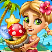 دانلود Tropic Trouble Match 3 Builder 4.10.10 - بازی پازلی جذاب برای اندروید