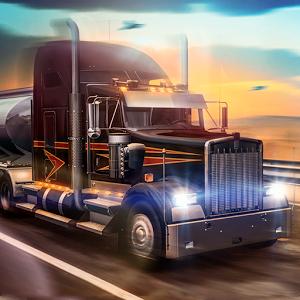 دانلود Truck Simulator USA 2.2.0 - بازی رانندگی با تریلی 18 چرخ اندروید