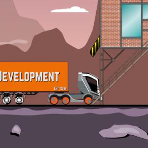 دانلود Trucker Joe 0.2.6 - بازی شبیه سازی راننده کامیون اندروید