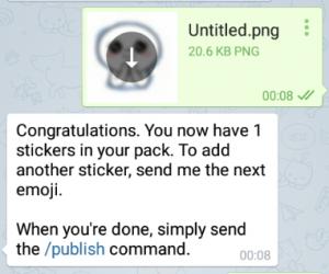آموزش تبدیل استیکرهای لاین به تلگرام + تصاویر