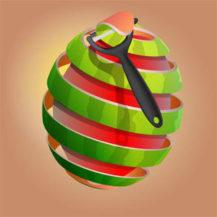 دانلود i Peel Good v1.8.2 - بازی جذاب پوست کندن میوه ها برای اندروید