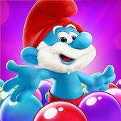 دانلود Smurfs Bubble Story 3.04.050001 - بازی حباب های رنگی اسمورف ها اندروید
