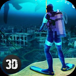 دانلود Underwater Survival Sim 2 v1.2.0 - بازی شبیه ساز بقا در زیر آب اندروید