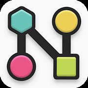 دانلود noded 1.7 - بازی پازلی گره ها برای اندروید