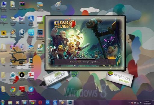 آموزش روش نصب کلش آو کلنز روی کامپیوتر + تصاویر