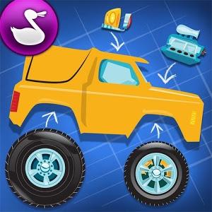 دانلود Build A Truck -Duck Duck Moose 1.2 - بازی ساخت کامیون اندروید