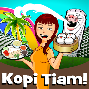 دانلود Kopi Tiam – Cooking Asia 1.6.1.2 - بازی مدیریت کافی شاپ اندروید