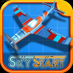دانلود SkyStart Racing 1.24.7 - بازی هیجان انگیز خلبانان آسمان اندروید