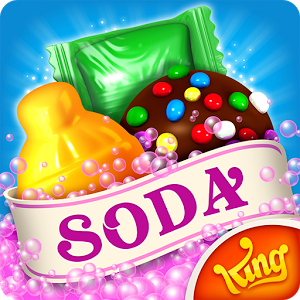 دانلود Candy Crush Soda Saga 1.192.3 - بازی کندی کراش سودا ساگا اندروید