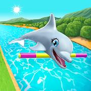 دانلود My Dolphin Show 4.37.8 - بازی نمایش دلفین من اندروید