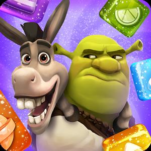 دانلود Shrek Sugar Fever 1.17 - بازی پازلی شرک اندروید