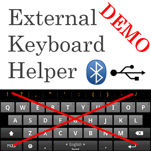 دانلود External Keyboard Helper Demo 7.4 - برنامه اتصال کیبورد فیزیکی به گوشی اندروید