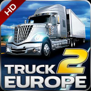 دانلود Truck Simulator Europe 2 HD v1.0.3 - بازی رانندگی با کامیون در اروپا اندروید