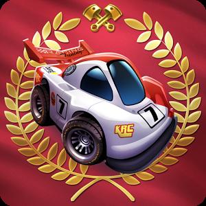 دانلود Mini Motor Racing 2.0.2 - بازی جذاب ماشین های کوچک اندروید
