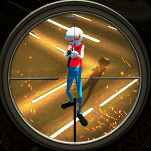 دانلود American Monster vs Stickman Sniper Modern Combat 1.1.2 - بازی اکشن اندروید