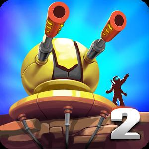 دانلود Tower Defense: Alien War TD 2 v1.2.6 - بازی استراتژیک دفاع از قلعه اندروید