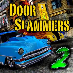 دانلود Door Slammers 310371 - بازی مسابقات درگ خودروهای کلاسیک اندروید