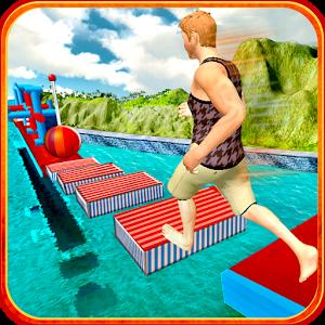 دانلود Stuntman Water Run 1.1.5 - بازی ماجراجویی خفاش آبی اندروید