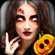 دانلود 1.1 Halloween Photo Editor - Scary Makeup - برنامه ماسک های هالوین برای اندروید