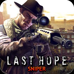 دانلود Last Hope Sniper – Zombie War 2.13 - بازی اکشن امید تک تیرانداز اندروید